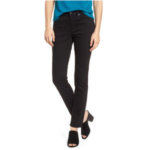 Black Organic Cotton Stretch Skinny Jean Pants 12P